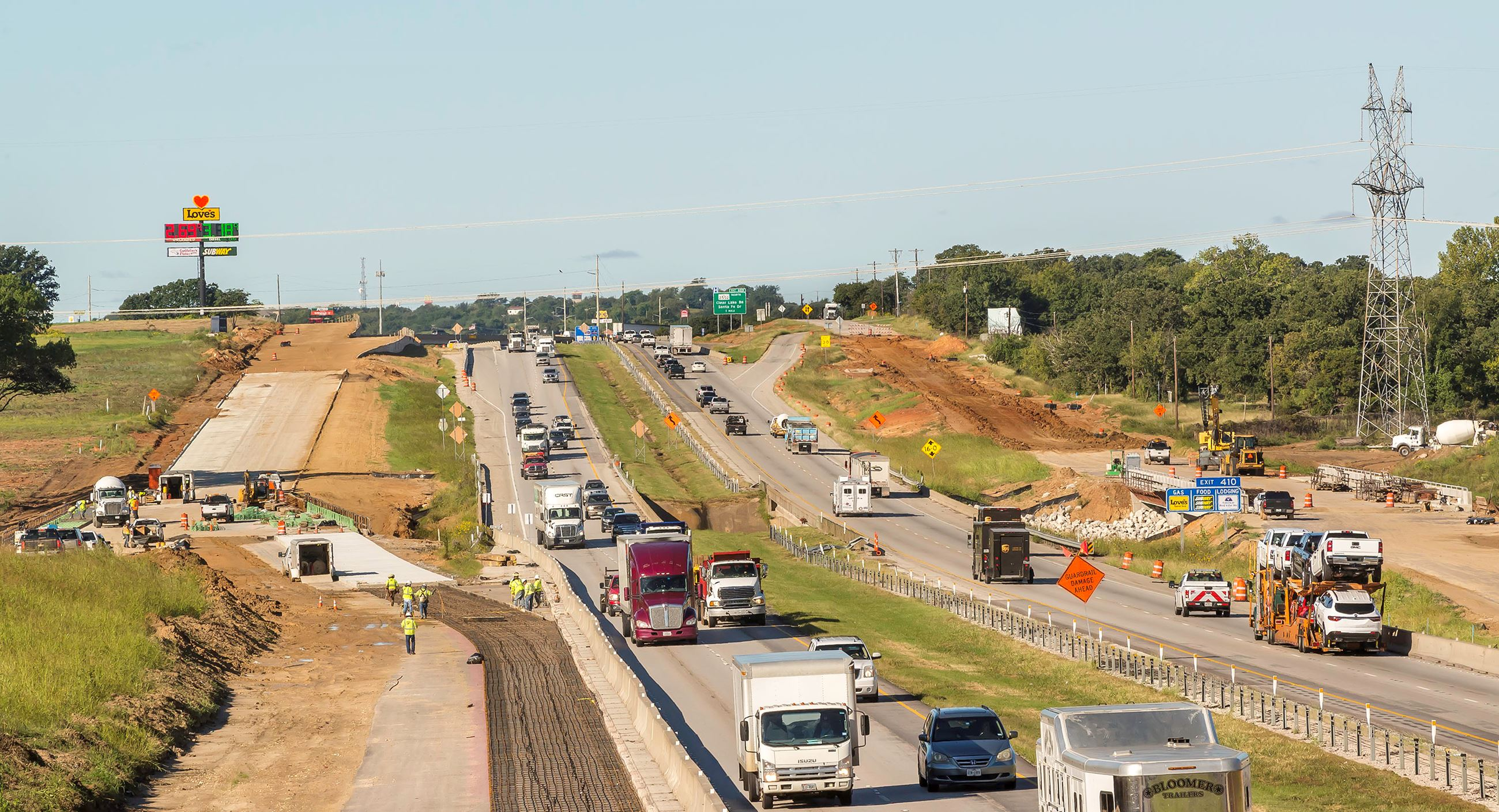 Image of Center Point - I20 frontage road construction (2)